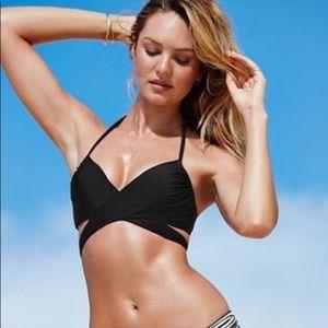 Victoria's Secret Swim - Victoria's Secret wrap halter bikini top